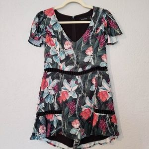 Minkpink romper with cutout detail - M